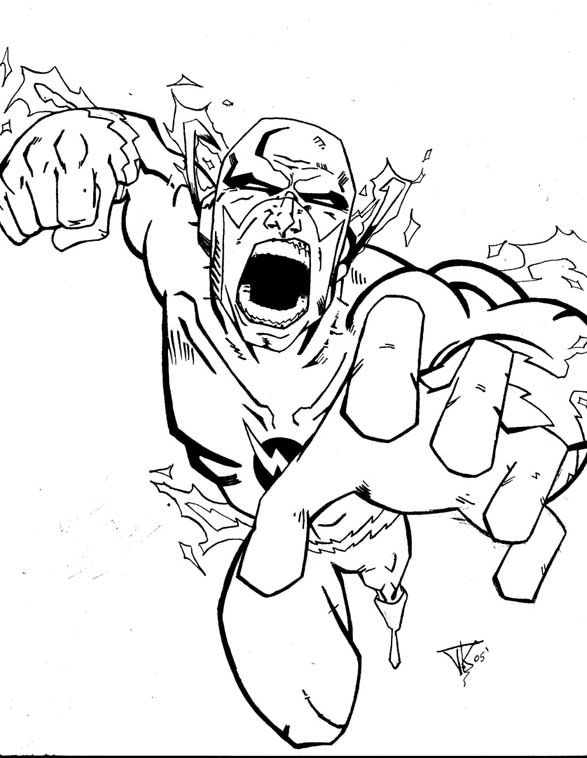 Awesome Flash Coloring Pages Ideas Superhero Coloring Pages Coloring Pages Cartoon Coloring Pages