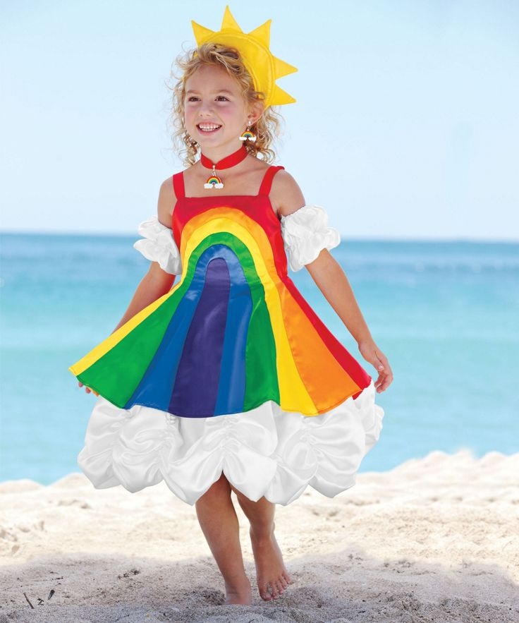 Over The Rainbow Costume for Girls - I need this to be made in grown-up sizes!