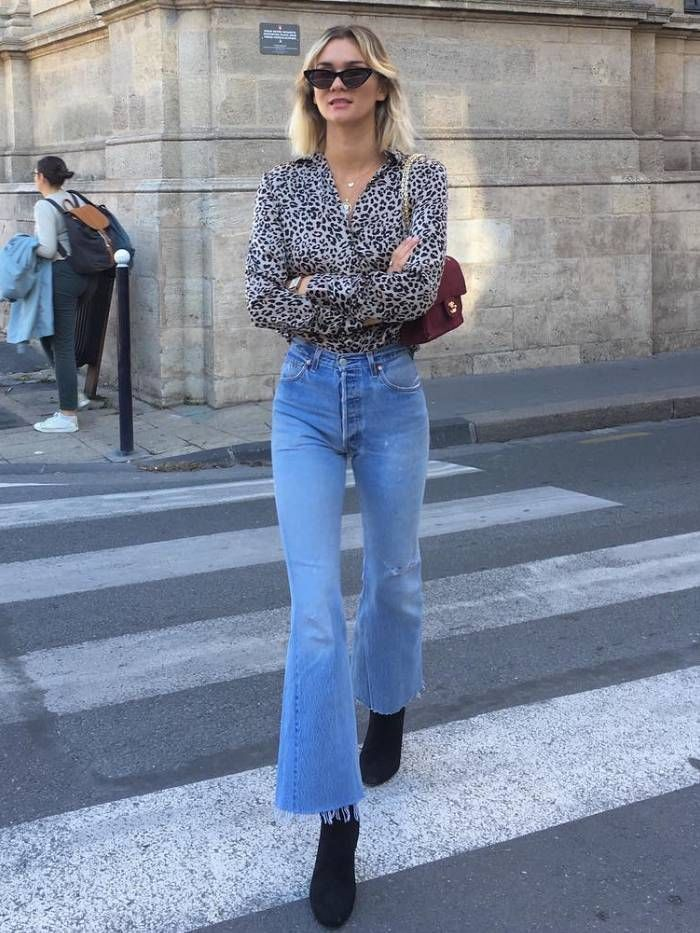 French Women Are After This One Pair of Jeans Right Now French women are all wea…