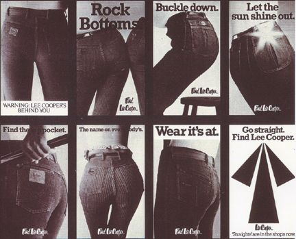 Lee Cooper featuring in The Sun #denimjeans #since1908