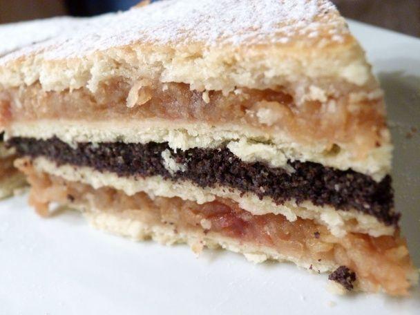Fluden, makovo-jablčný koláč (fotorecept) - obrázok 6