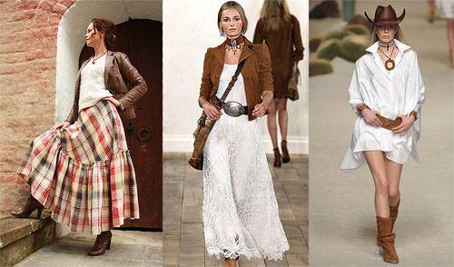 Рустикальный стиль в одежде: характерные черты и особенности