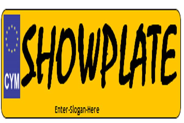 Numberplate Maker - Plate Maker for Cars and Motorbike - Bike number plates and cars number plates are available on cheap prices at Show Plate UK. We have all your favorite fonts and styling, so you can create your favorite number plate with us.