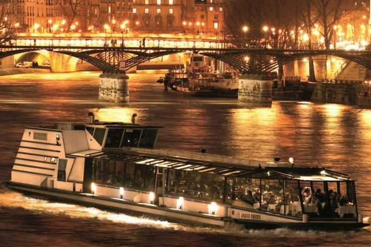 Get Seine Dinner Cruise + Eiffel Tower Tickets for $140.00 Seine Dinner Cruise + Eiffel Tower Tickets