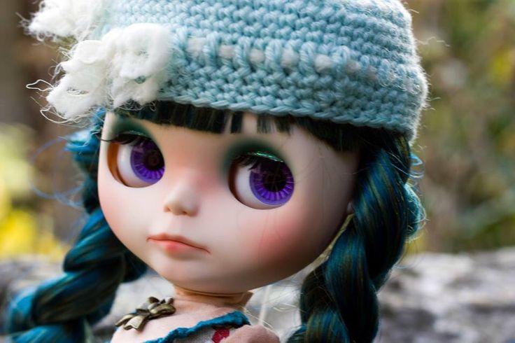Custom blythe by me jolly Roger dolls