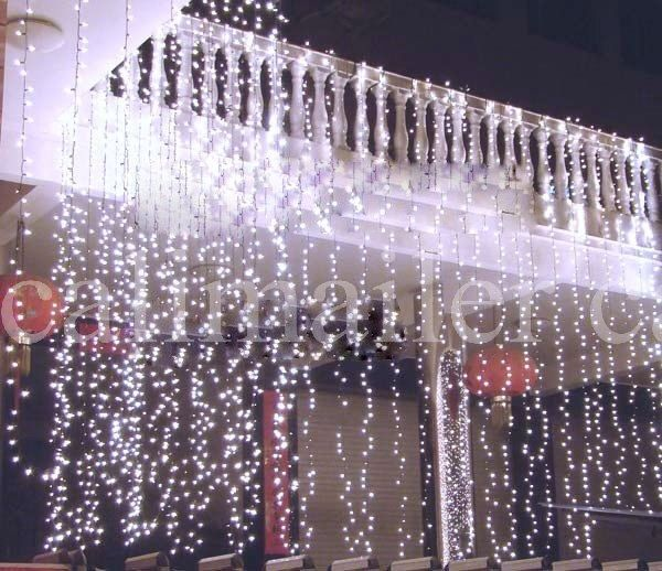 White 10M 100 LED Fairy Light String Christmas Party Xmas Lights Wedding Garden Outdoor Indoor by CALIMAILER on Etsy https://www.etsy.com/listing/199832486/white-10m-100-led-fairy-light-string
