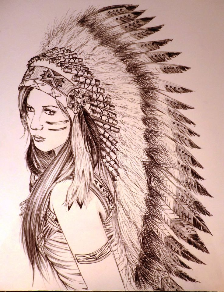 cherokee girl by AdrianLam on deviantART