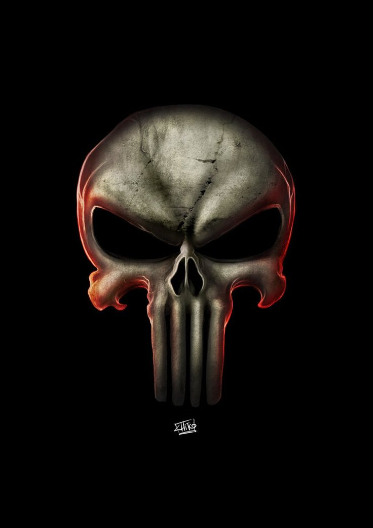 Punisher Logo by ManuDGI