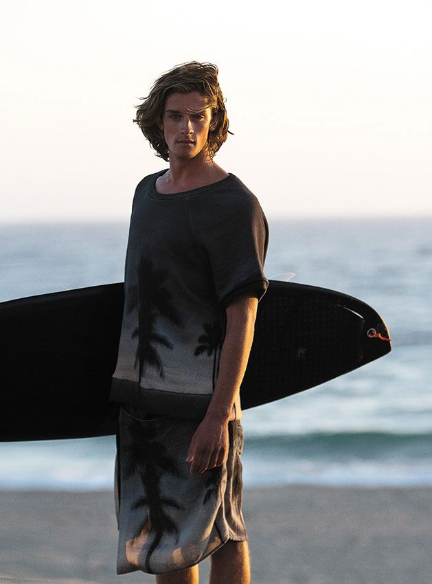 Jacob Crumbley Tackles an 'Endless Summer' for Osklen Spring/Summer 2013…