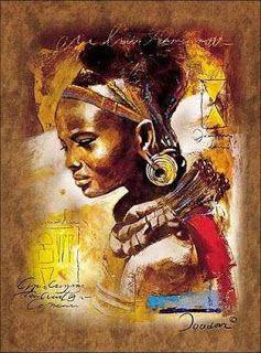 bailes y danzarines: La danza africana