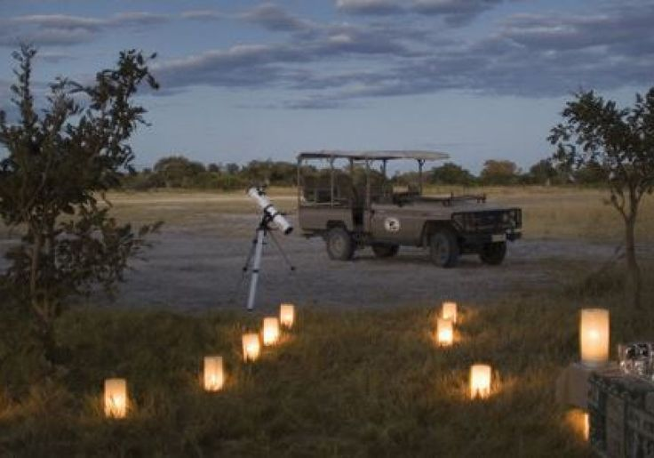 W oczekiwaniu na gwiazdy w Parku Chobe