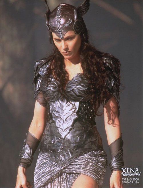 Lucy Lawless as a Valkyrie from Xena Warrior Princess. -