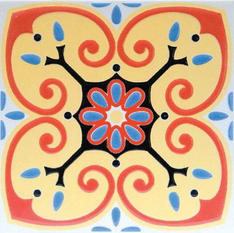 Modelo Coimbra (20 x 20 cm), inspirado em mosaicos portugueses. Na Leroy Merlin, a partir de 8 reais, a peça.