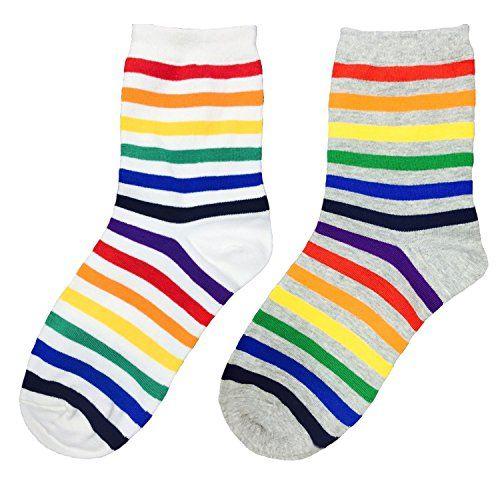 MIRINE Unisex Cute Pattern Cotton Socks Series 2 pairs (Rainbow) MIRINE http://www.amazon.com/dp/B01D037AGK/ref=cm_sw_r_pi_dp_Sec6wb01ZKJ1S
