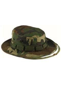 Woodland Camouflage Vintage Boonie Hat ! Buy Now at gorillasurplus.com
