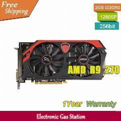 [ $28 OFF ] Msi Desktop Graphics Card Amd R9 270 2Gb Gddr5 256Bit Directx 11.2 Dual Dvi Hdmi Displayport 1280Sp