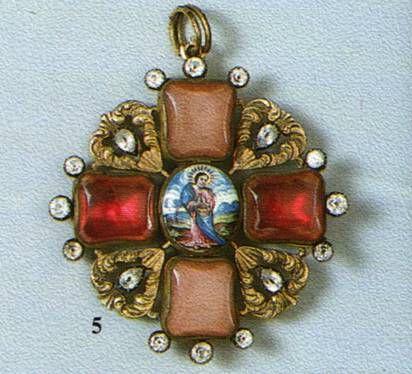 знак крест ордена святой Анны