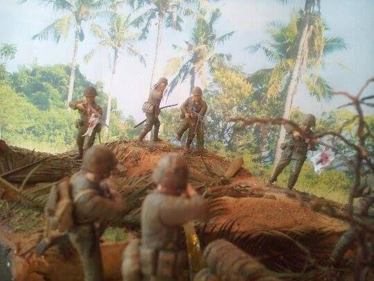 Marines! USMC vs. SNLF. Tarawa Test Shot 01