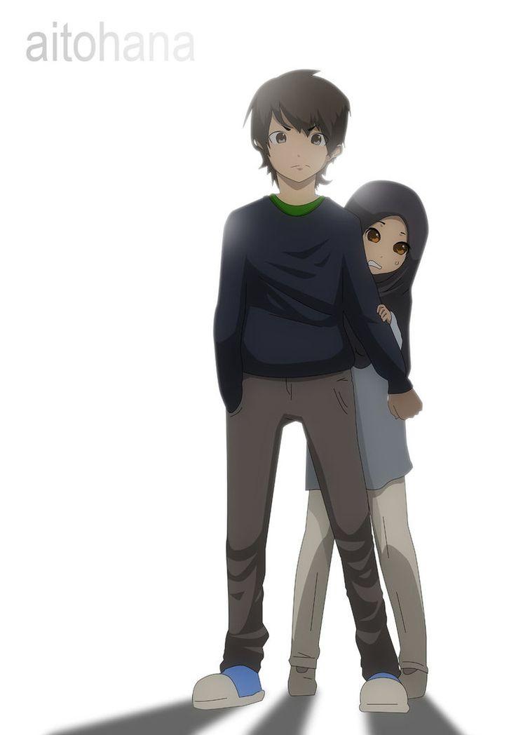 Anime Couple Keren Muslim Anime Wallpapers