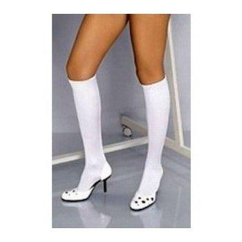 Medias cortas blancas medias sexys pinterest medias for Prendas interiores femeninas