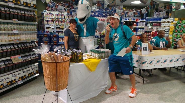 Haven't purchased Badia Spices, Inc. Olive Oil yet? The Badia Team will be at the Publix Super Markets store located in the Sunshine Plaza at 4121 W. Commercial Blvd in Tamarac, FL 33319 on December 6th from 11am to 1pm. Meet Miami Dolphin Alumni, Cheerleaders, and TD the Miami Dolphins Mascot while enjoying a tasty treat with Badia Olive Oil! 5% of all global 1 LT Badia Olive Oil sales benefit The Dan Marino Foundation!