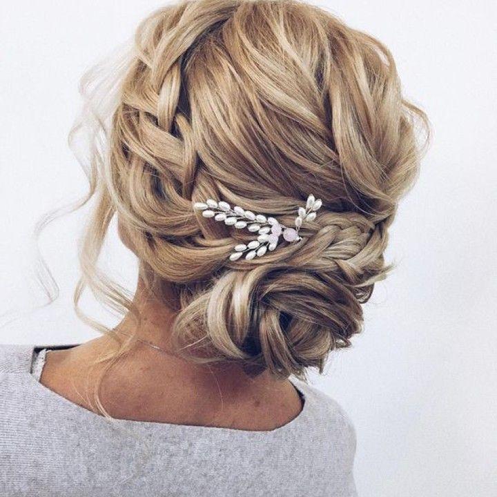Derfrisuren.top Coiffure de mariage pour les cheveux de longueur moyenne 2017 pour moyenne mariage longueur les de coiffure cheveux