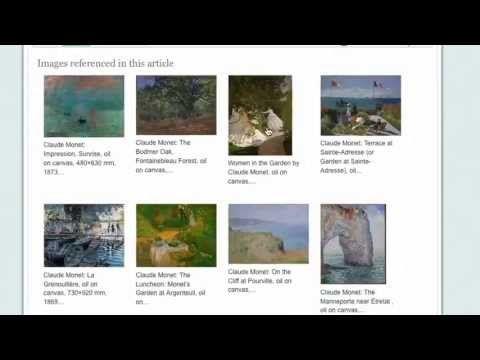 Grove Art Online in Oxford Art Online art encyclopedia linked here through Oxford