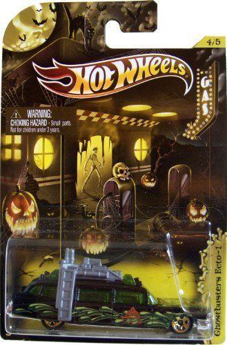 2012 hot wheels ghostbusters ecto 1 halloween pr5 rare hotwheels ecto1 - Rare Hot Wheels Cars 2012