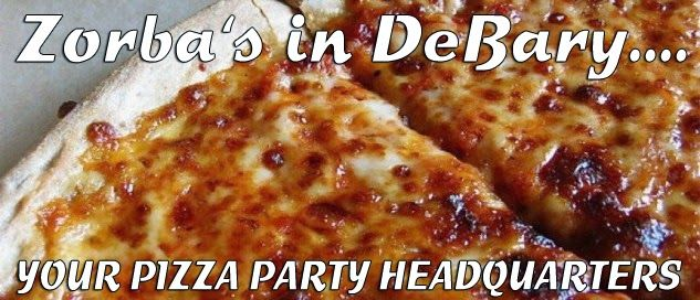 Good Pizza - Great Greek Food!  There is always a reason to have a pizza party!!  Here are few good examples to plan for... in 2015! RSVP our spacious banquet room now!! www.zorbasgreekfood.com