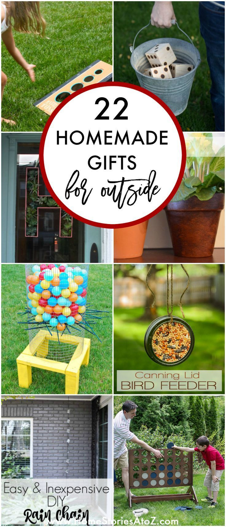 22+ Homemade Gift Ideas - Including Gifts for Outside  Homemade