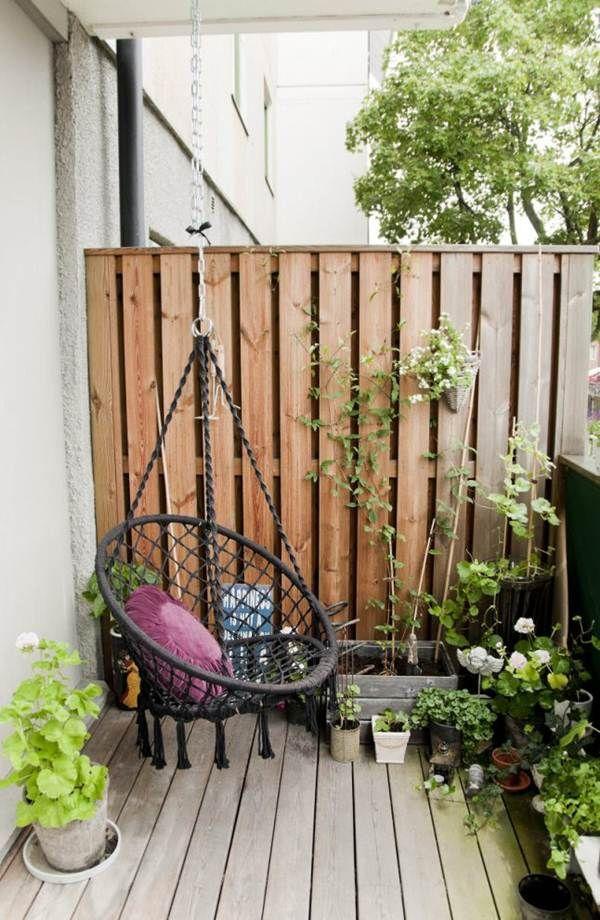 Cerco perimetral para la terraza balcones y terrazas for Ideas para terrazas y patios