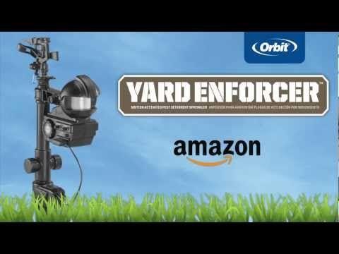 Yard Scarecrow Sprinkler Video Demo – Scarecrow Sprinkler Org.