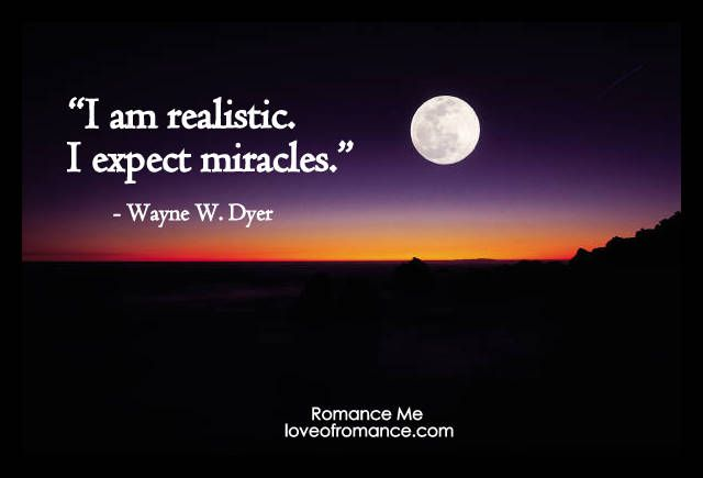 Realistic Quote — Romance Me