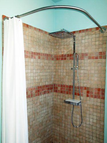 1000 id es sur le th me rideaux de douche sur mesure sur - Rideau champetre cuisine ...