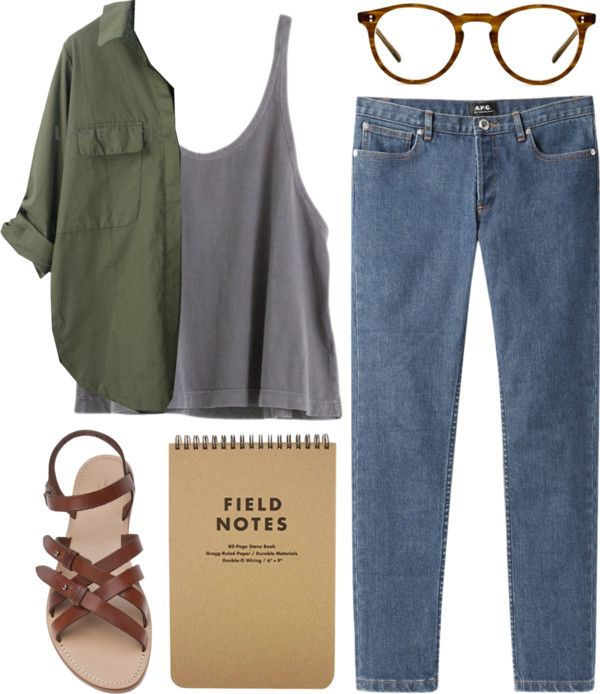 """field notes"" by admir-ing on Polyvore"