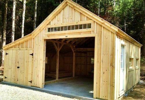 14 39 x 20 39 one bay garage optional 8 39 x 20 39 enclosed for 14 x 8 garage door