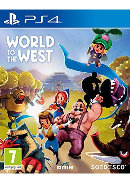 #WorldtotheWest #PS4 £16.85