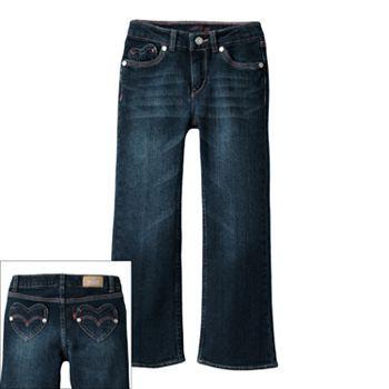 "Levi's Sweetheart Flared Jeans - Girls' 4-6x  ggcguu469÷5313457×=% €¥₩₩*&$×#&((,;""'▪¤¡¿♡□□>{♧♢♡♤"