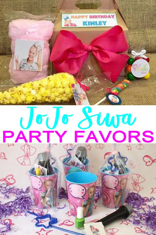 JoJo Siwa Party Favor Ideas That Are Easy And Fun Goodie Bags DIY More BEST Favors For Birthdays Or Any