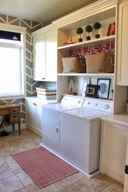 Laundry Room Reveal! (The Casablanca Transformation)
