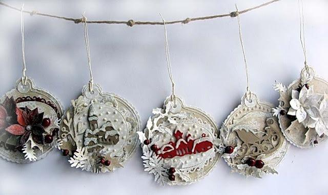 Dorota_mk | Christmas gift tags, Christmas dies, Christmas ...
