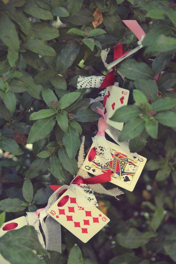 Vintage Alice in Wonderland Garland by HeatherVintage88 on Etsy, $10.00
