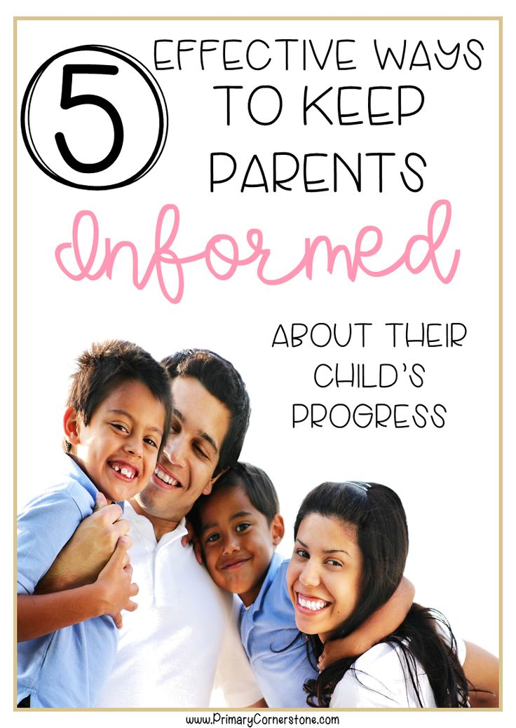 5 Ways to Keep Parents Informed - Primary Cornerstone