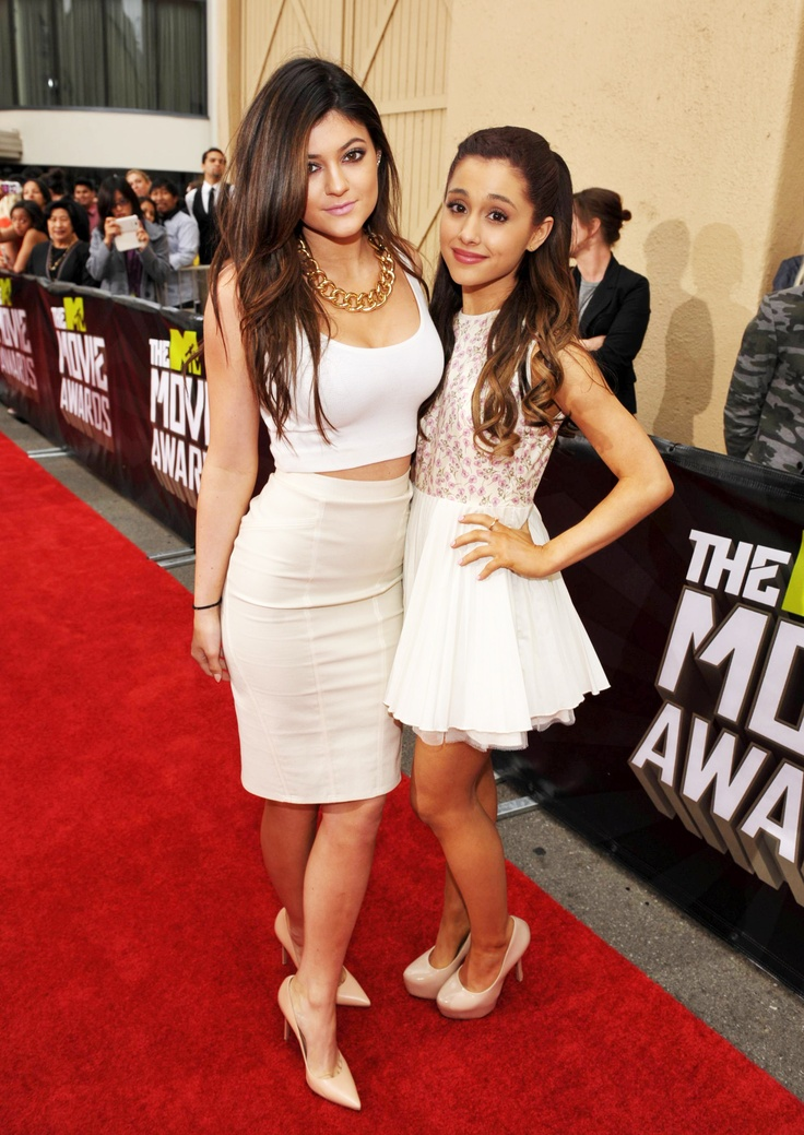 Kylie Jenner Amp Ariana Grande Attended The 2013 Mtv Movie