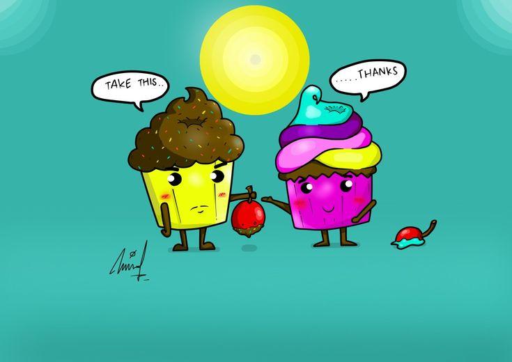 Shy Cakes by gianmulya