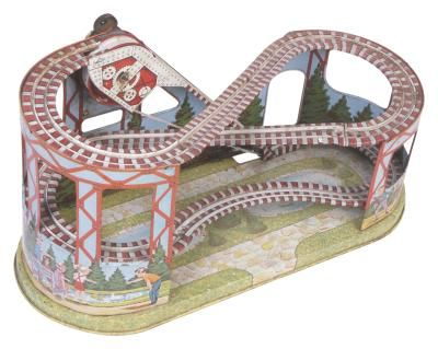 How to Build a Miniature Scale of a Roller Coaster Out of Cardboard