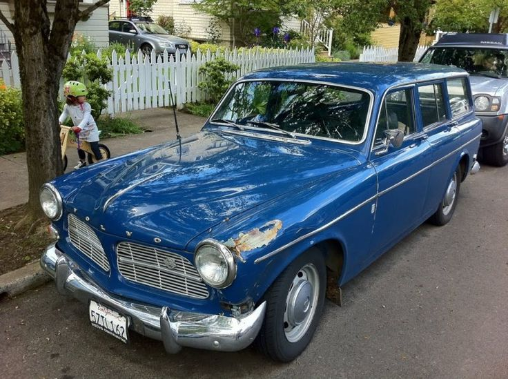 1965 Volvo Amazon 122S Wagon long john blog indigo blue jeans denim authentic usa sweden raw rigid wheels car wagon (2)