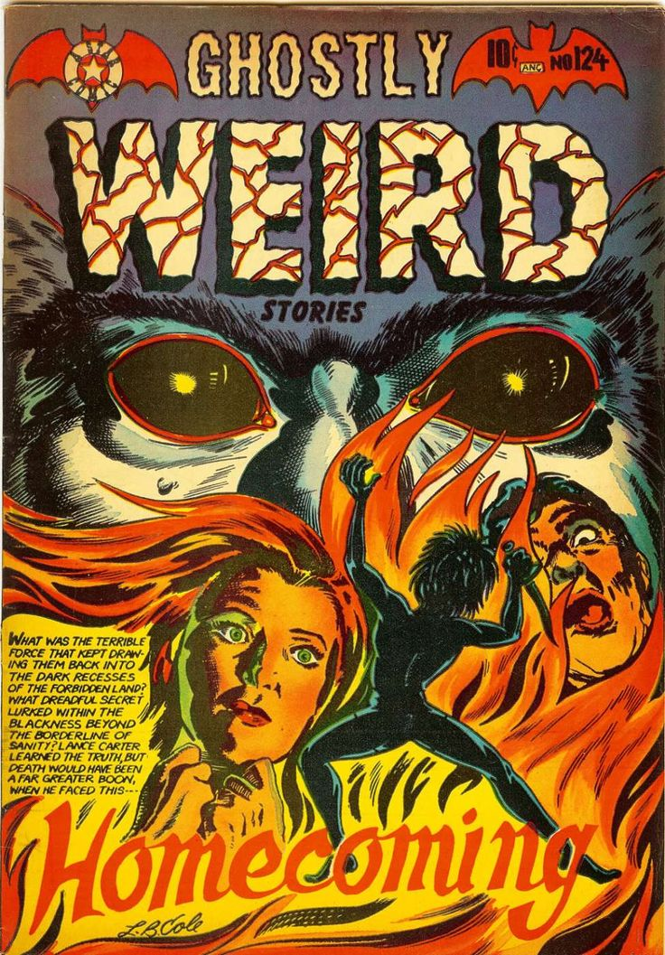 Comic Book Cover For Ghostly Weird Stories #124 | Tebeos | Pinterest