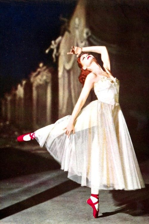 The Red Shoes  (1948) - Moira Shearer.    I LOVE THIS BALLET. And I want to see it <3
