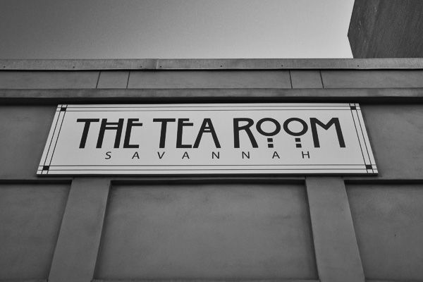 One of my favorite places to go in Savannah, Georgia - The Tea Room